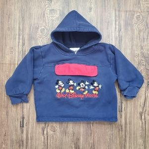 Vintage Walt Disney World Resort Toddler Hoodie